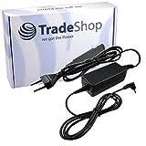Bloc d'alimentation chargeur câble de charge adaptateur 19V 2,1A pour ordinateur portable ASUS EeePC 1005-PE HR 1005-Ha de M...