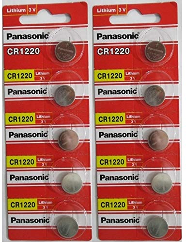 Panasonic CR12203Volt Lithium-Knopfzelle (10PCS)