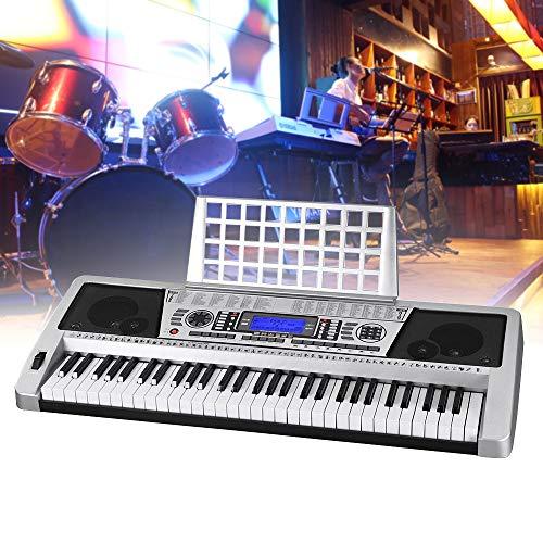 61 Teclas Eléctricas Instrumento de Piano LCD Teclado...