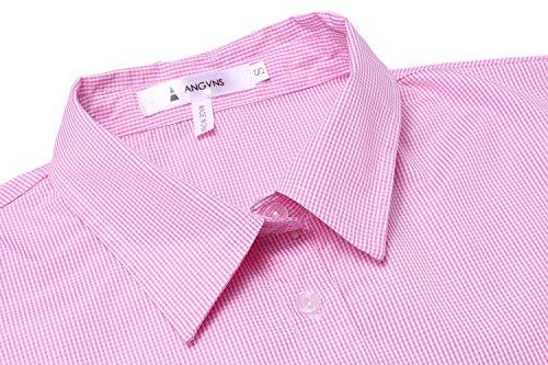 ANGVNS Damen BleistiftKleid Hemdblusenkleid Blusenkleid Gefälschte Zweiteilige Pencil bodycon Kariert Langarm Hemdkragen Business Baumwollmischung - 5