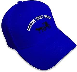 Custom Baseball Cap Amish Buggy Embroidery Acrylic Dad Hats for Men & Women