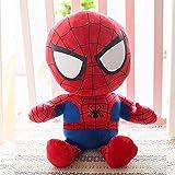 Jouet en Peluche Marvel Spiderman, poupée Iron Man, poupée de Chiffon Oreiller de Couchage Avengers, Cadeau d'anniversaire Spiderman 63 CM