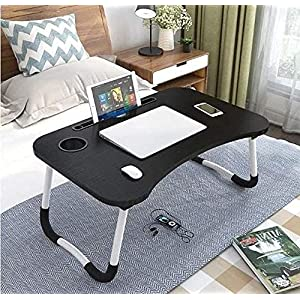 DECORVAIZ Multipurpose Laptop Table with Dock Stand & Non-Slip Legs Foldable and Portable Lapdesk for Study & Bed 15 51k9OmMZyIS. SL500 . SS300