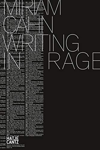 Miriam Cahn: WRITING IN RAGE (English Edition)