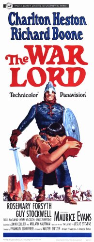The War Lord POSTER Movie (14 x 36 Inches - 36cm x 92cm) (1965) (Insert Style A)