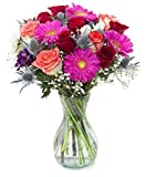 Delivery by Monday, May 17th Sunset Bouquet by Arabella Bouquets