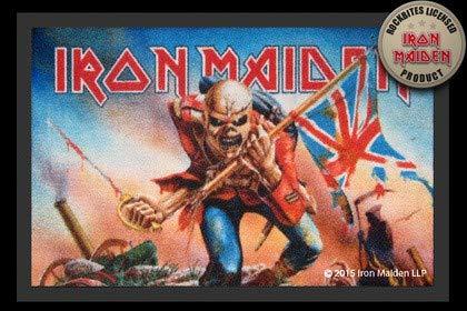 Iron Maiden felpudo The Soldado Alfombrilla Estera De Tierra Separador De Puerta Felpudo De Puerta Mat Alfombra felpudo