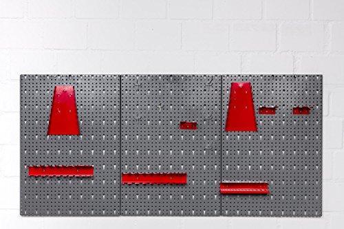 Werkstatteinrichtung bestehend aus: Werkbank, Werkstattschrank und Euro-Lochwand - 4