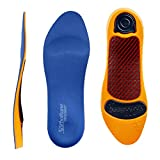 Rx Sorbo Sorbothane Ultra Orthotic Arch Insoles Men's 14-15
