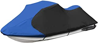 """Jetpro Trailerable PWC Watercraft Jet Ski Cover Blue/Black Color Fits from 136""""-145""""(3 Seater)"""