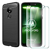 MYLBOO For Moto G7 Play Case with Screen Protector,[3 in 1]