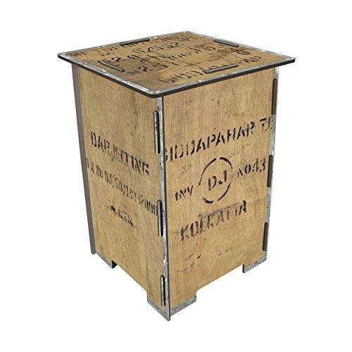 Stool - tea, wooden box - Werkhaus by Werkhaus