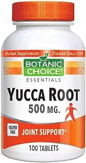 Botanic Choice Yucca Root Tablets 500 mg,100 Tablets