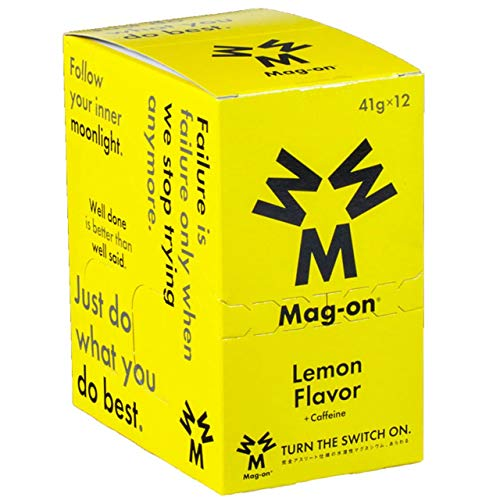 Mag-on マグオン レモン1箱(12個入り)【sotoasoオリジナルセット 登山 マラソン ランニング トレイルランニング トライアスロン 行動食 補給食】