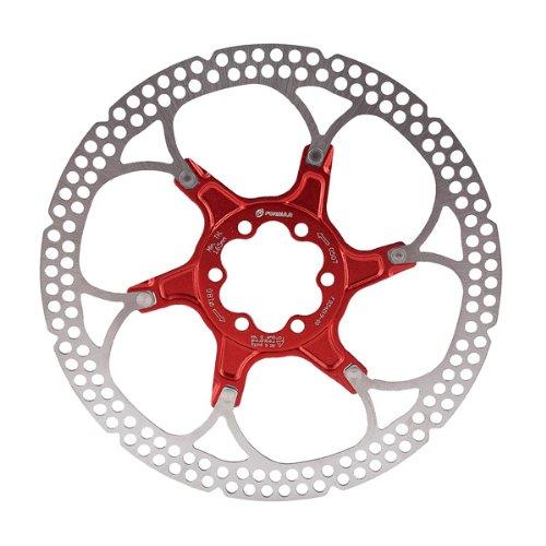Formula Bremsscheibe 6-Loch-Halterung, Aluminium 180 mm rot - rot