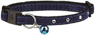 Trixie Cat collar rhinestone gems, one size - multi color