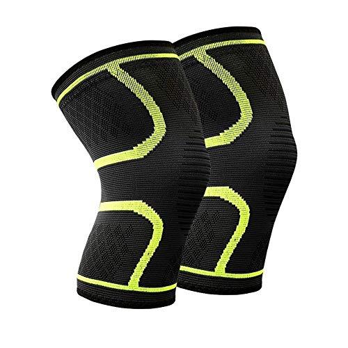 W.Z.H.H.H Rodilleras 1 par Protector de la Rodilla Deportes Running Knee Pads Riding Baloncesto for Hombres y Mujeres de la Guardia Rodilla y Transpirable
