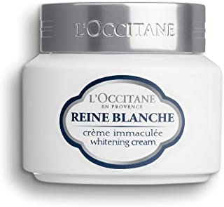 L'Occitane Reine Blanche Brightening Face Cream To Hydrate Skin To Help Even Out The Appearance Of Skin Tone, 1.7 Oz