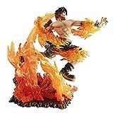 One Piece, Figurine D'animation en PVC Respectueux De l'environnement, Figurine Fire Fist Ace Flame, Plus De 14 Ans 9,8 Pouces