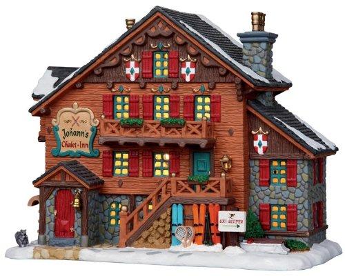 Vail Village Johann's Chalet Inn Lighted Christmas Building
