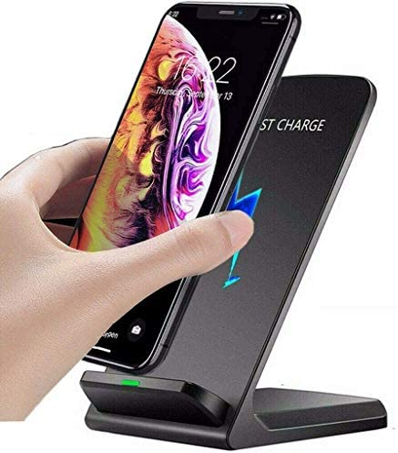 Universal Qi Fast Wireless Charger Stand Charging Dock for Apple iPhone 12 Pro Max 12 Mini SE product image