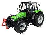 Universal Hobbies - UH 4217 - Tractor - Deutz-FAHR AgroXtra 4.57 - 1/32 Escala - Verde