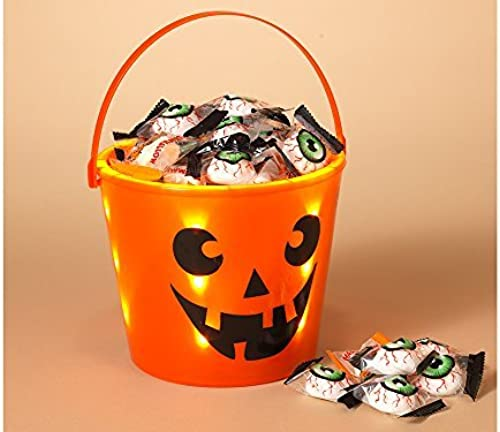 Halloween Trick or Treat Light Up Bucket by Gerson