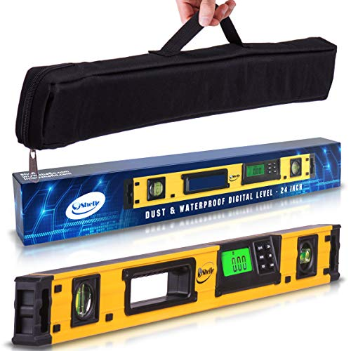 24-Inch Professional Digital Magnetic Level - IP54 Dust and...