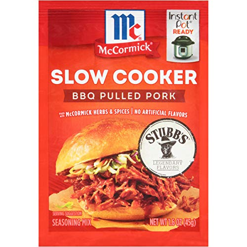McCormick Slow Cooker S BBQ Pulled Pork Gewürzmischung, 45 ml (12 Stück)