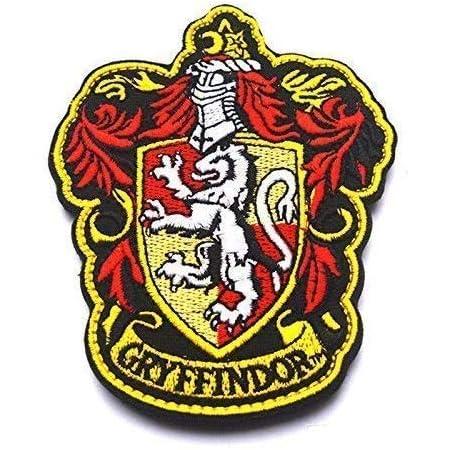 Parches de calidad Harry Potter, blasones parche Gryffindor (Gryffindor)