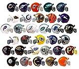 NFL FOOTBALL SET of 32 TEAM 2' VENDING HELMETS - NFL Football Team 2' Vending Helmets Featuring Packers, Dolphins, Titans, Broncos, Buccaneers, Bills, Bears, Falcons, Vikings, Panthers and More
