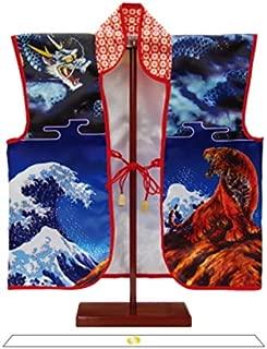 友禅陣羽織飾り スタンド付き