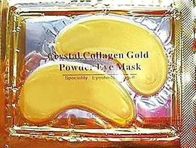 Collagen eye mask anti wrinkle bags ageing crystal eyelid patch pad moisturiser by Desire