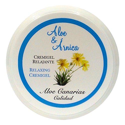 Aloe Canarias 200120 - Cremigel de aloe vera y árnica, relajante muscular, 250 ml