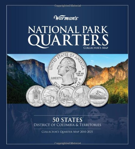 National Park Quarter Map (Warman's Collector Coin Folders)