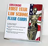Image of Barron's First Year Law School Flash Cards: 350 Cards with Questions & Answers (Barron's Test Prep)