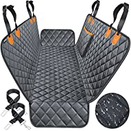 URPOWER 100% Waterproof Pet Seat Cover Car Seat Cover for Pets - Scratch Proof & Nonslip Backing & Hammock, Quilted, Padded, Durable Pet Seat Covers for Cars Trucks and SUVs