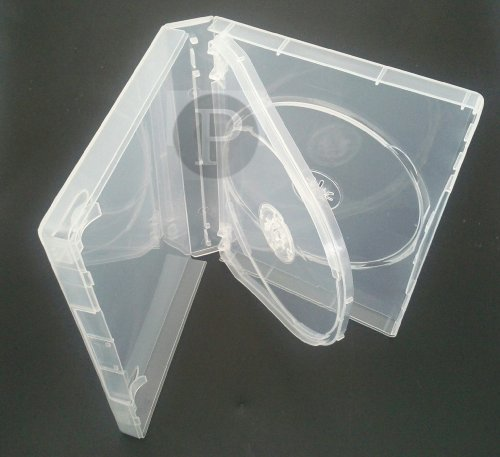 Custodia Case Per DVD / CD - 3 Posti Dorso 27mm