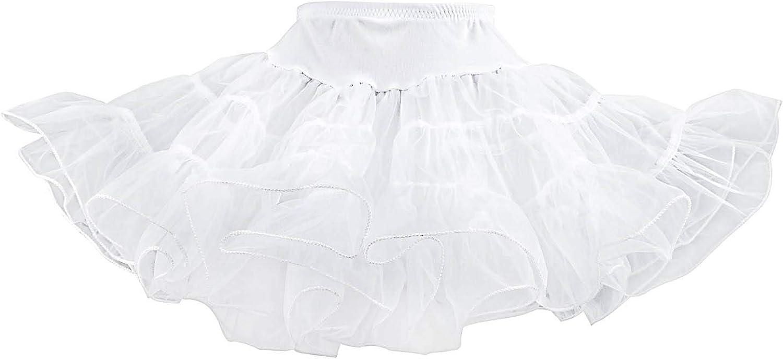 Hip Hop 50s Shop Crinoline Petticoat Underskirt Slip for Girls