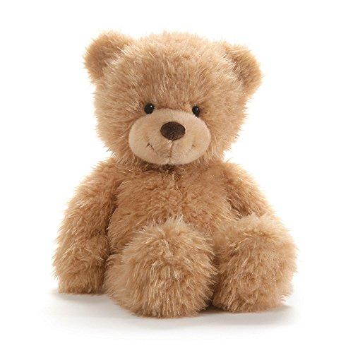 "GUND Ginger Teddy Bear Stuffed Animal Plush, Beige, 15"""