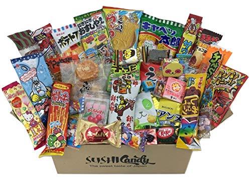 L'assortiment de bonbons japonais