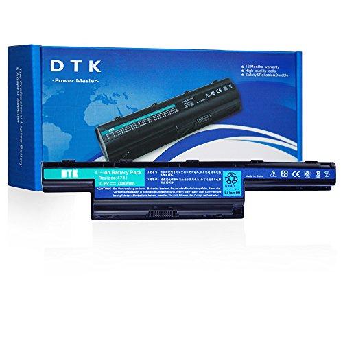 DTK 7800mAh AS10D31 AS10D51 Laptop Akku für Acer Aspire V3-571G V3-771 5742 575 E1-571 5750 5750G 5755G V3-771G 7551 5740 V3-571 4741 TravelMate P253-M AS10D3E AS10D41 AS10D73 AS10D81 10.8V
