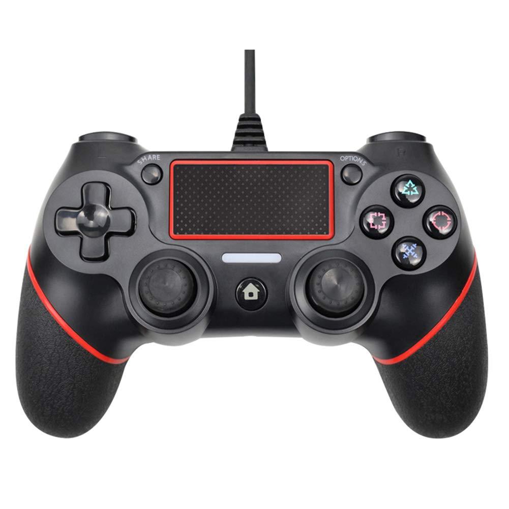 Controlador de juego para PS4, Gamepad con cable USB para Playstation 4 consola de juegos mando a distancia con cable para Gamepad Sony Playstation 4 PS4 Joystick: Amazon.es: Hogar