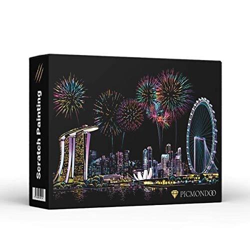 Scratch Painting - Singapur