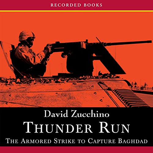 Thunder Run audiobook cover art