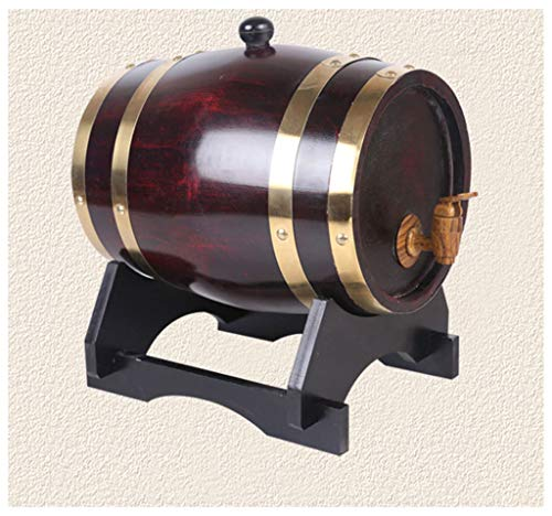 Barril de Roble 1.5L/3L/5L/10L Barril de vino de roble Estantería de vino, Whisky Barrel Wood Faucet, Vino envejecido Cerveza Cóctel Vodka (durable) Vino, cerveza, sidra, whisky. ( Size : 1.5L )
