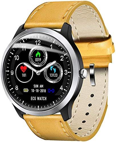 JSL Reloj inteligente para hombre, IP67, resistente al agua, reloj deportivo, monitor de frecuencia cardíaca, presión arterial