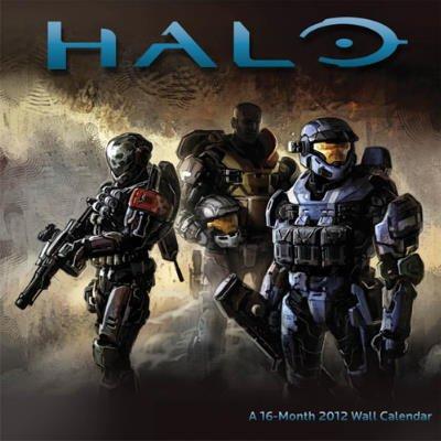 (12 x 12) 16 meses 2012 20122012 Halo videojuego calendario