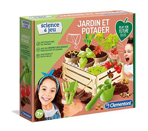Clementoni- Science Jardin et Potager-Play for Future Scientifique-Jeu botanique Enfant-Version française, fabriqué en Italie, 7 Ans et Plus, 52518