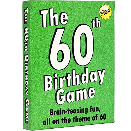 The 60th Birthday Game: a fun gift or present specially for people turning...